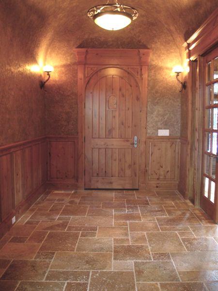 andino dark versailles pattern travertine floor