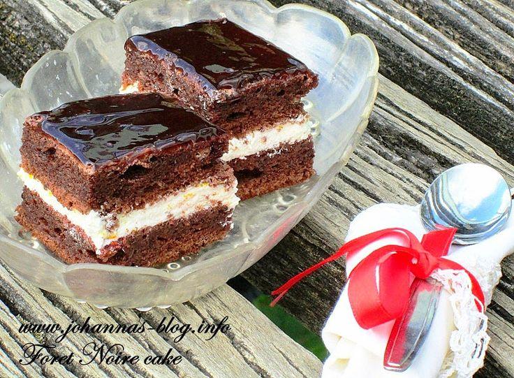 Johanna's recipes: Foret Noire cake