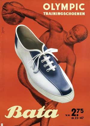 Bata Olympic Trainingschoenen - 1950 -