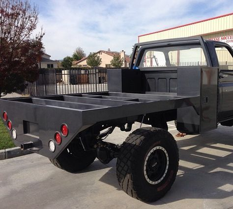 Awesome Custom Truck Flat Bed