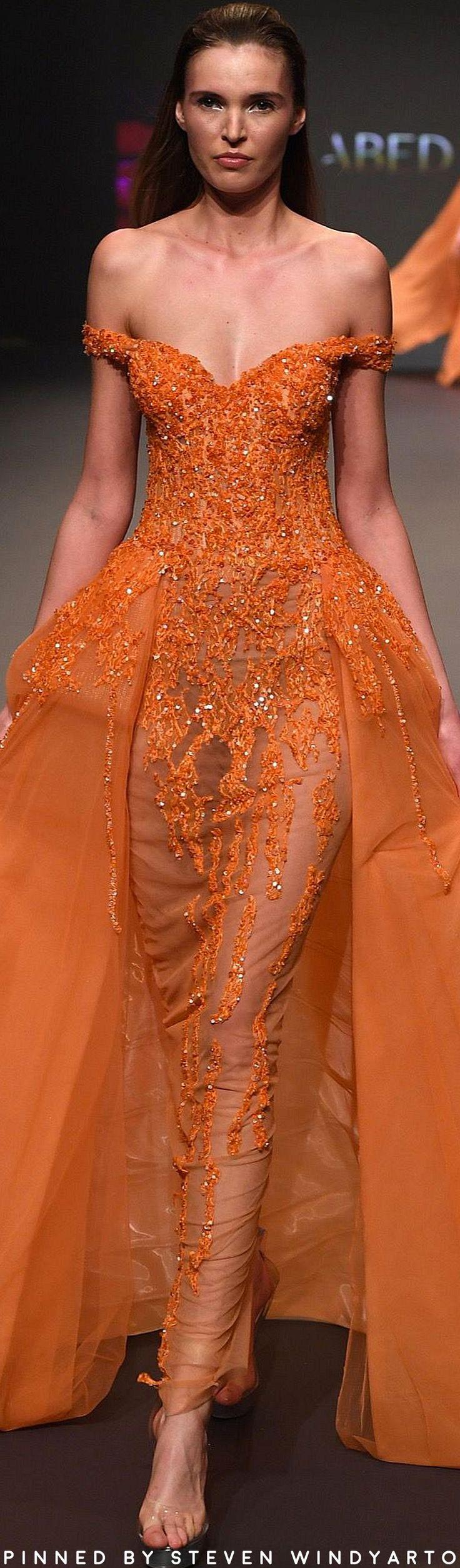 Abed Mahfouz Spring 2017 Fashion Show #spring2017 #womenswear #ss17 #abedmahfouz