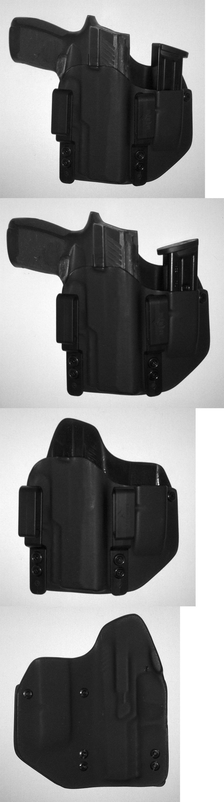 Holsters 177885: Custom Kydex Iwb Holster With Extra Mag Carrier For Sig Sauer P 320 Compact -> BUY IT NOW ONLY: $69 on eBay!