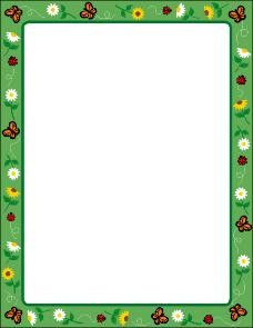 """Our Spring Computer Paper comes in 30 sheets per pack, a classroom-friendly quantity! It is the standard size of 8 1/2"""" by 11"""" and is great for making newsletters, invitations, posters, letters home a"""