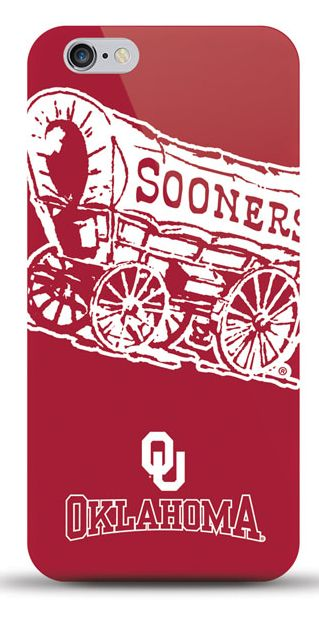 NCAA Oklahoma Sooners Sports XL TPU Licensed Oversized Logo Case for iPhone 5/5S/SE - (A Grade)
