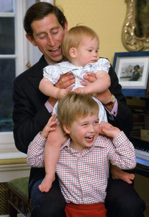 Prince Henry Charles Albert David – known as Harry - was also born at St Mary's Hospital, the younger son of Charles and Diana