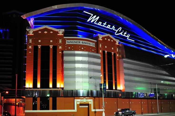 121 best casinos images on pinterest las vegas casinos for Motor city hotel detroit mi