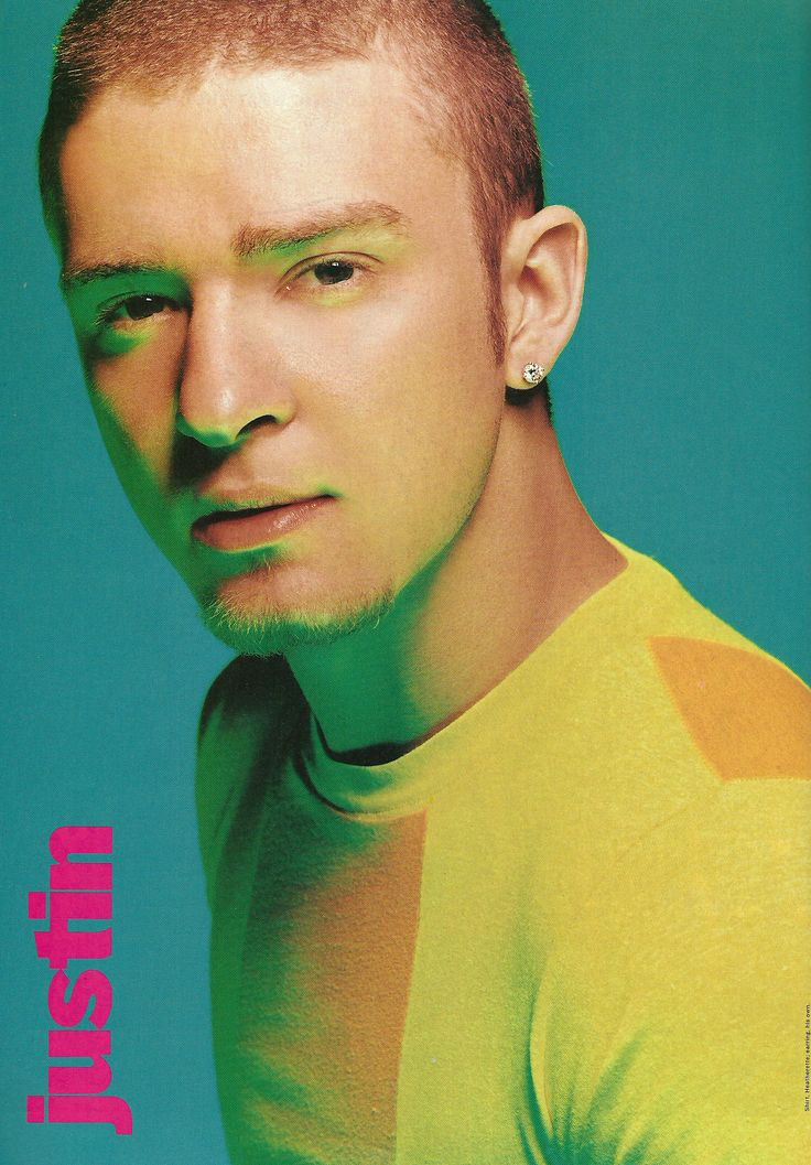 Justin Timberlake - August 2001 issue of YM