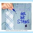 How to Remove Gel Ink Stains from Clothing
