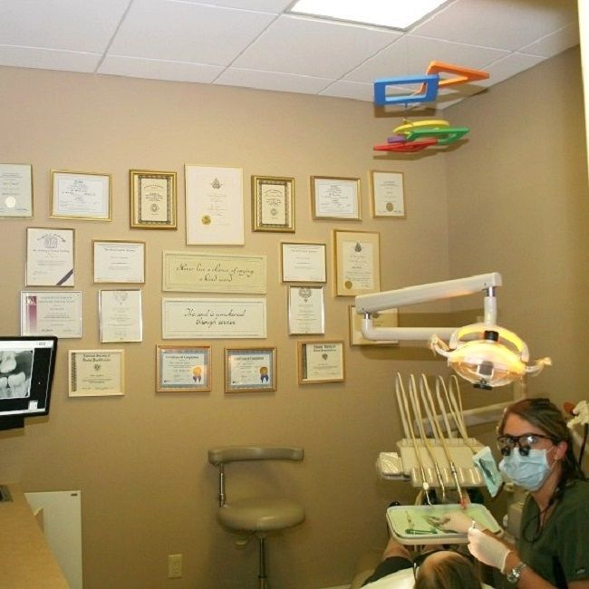 Advanced #dentalequipment and accolades display at Long Valley #dentistoffice Cazes Family Dentistry, LLC