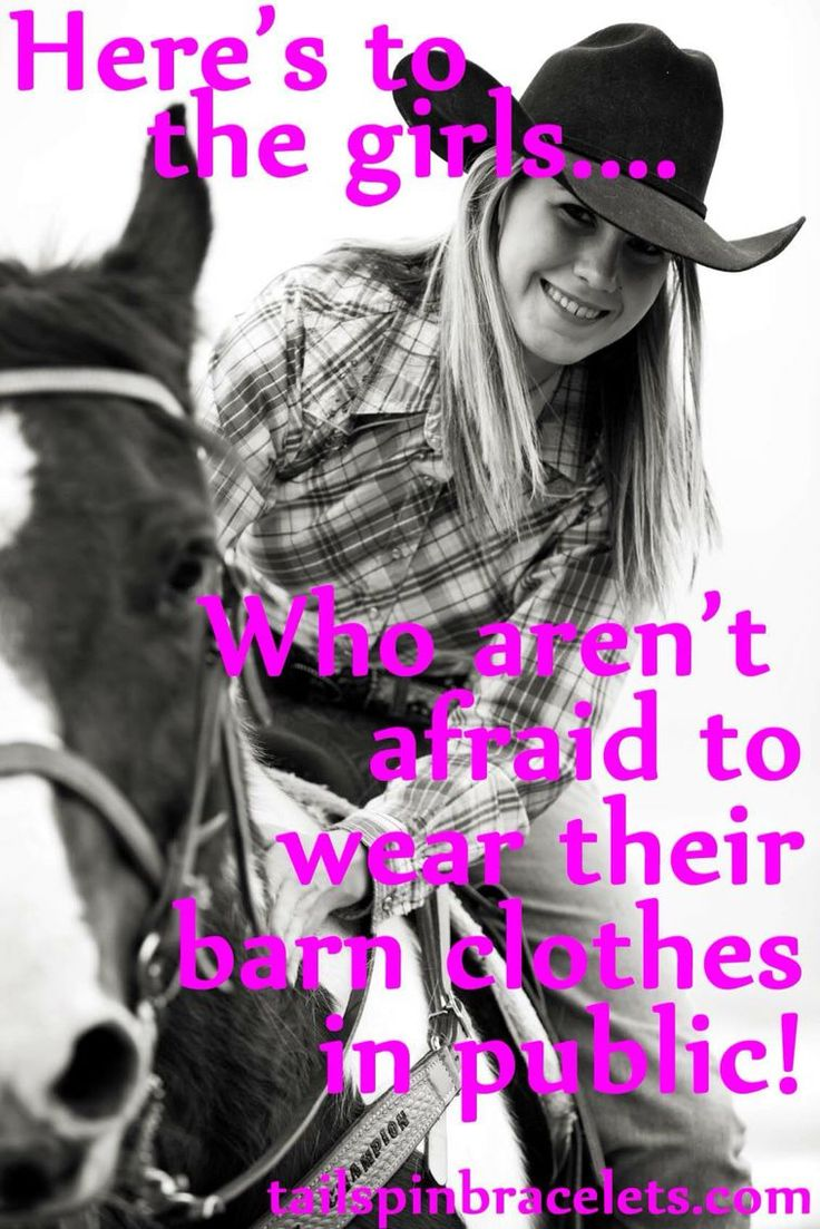 Everyday horse riding clothes