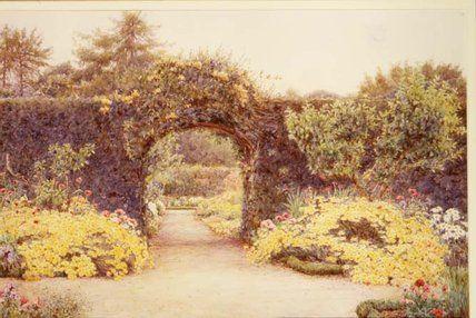 Juillet or de Ernest Arthur Rowe (1863-1922, United Kingdom)
