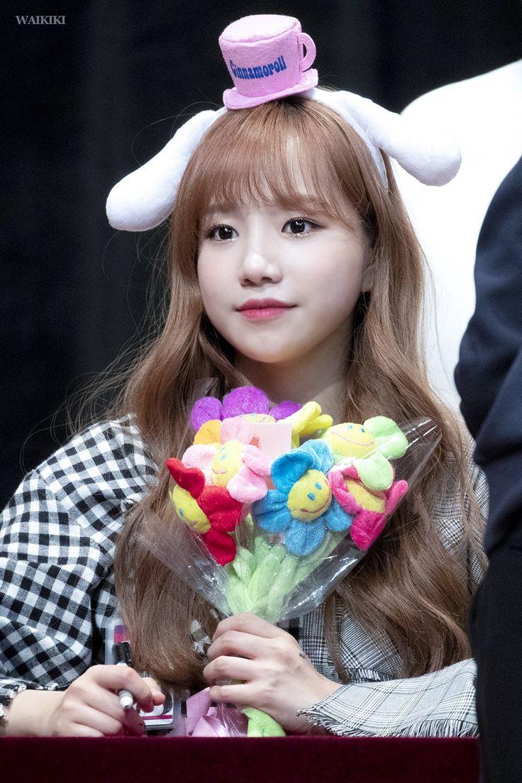 181118 Busan(부산) 7th fan sign event izone yuri