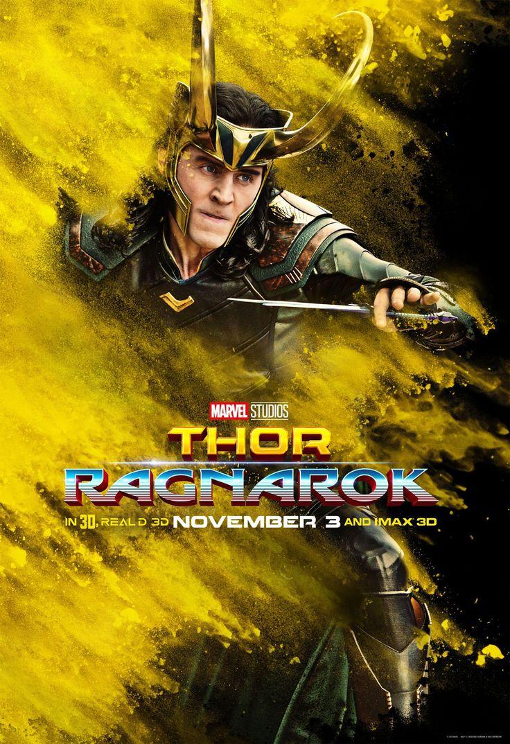 Loki character poster for Thor: Ragnarok. Enlarge image (HQ): https://wx2.sinaimg.cn/large/6e14d388gy1fjbbblsg0aj20zk1fwqij.jpg (Via Torrilla)