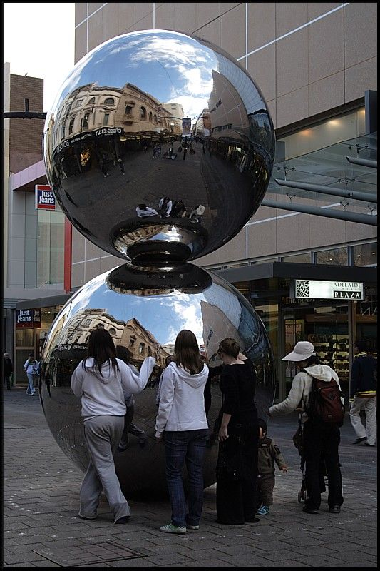 The Mall's Balls, Rundle Mall, Adelaide, South Australia