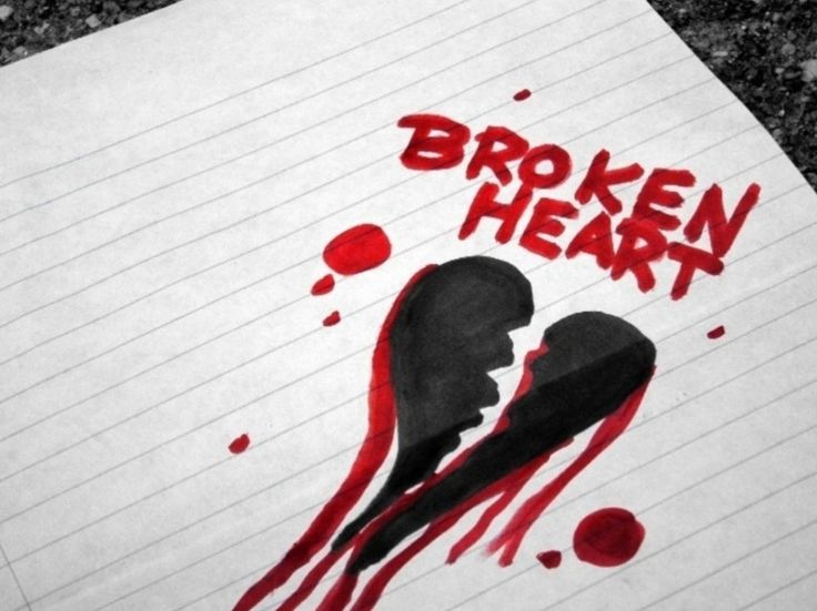 ''A heart broken by love sheds tears''