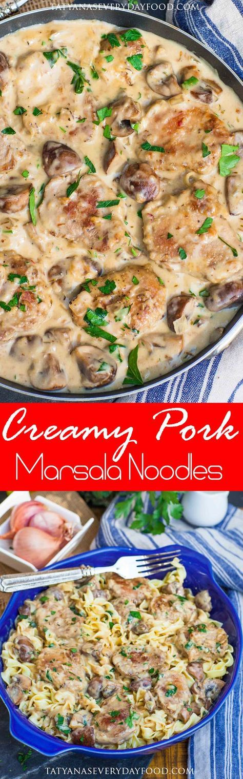 Holiday entertaining doesn't have to be a hassle with my quick and easy 'Creamy Roasted Garlic Pork Marsala Noodles'! This dish is packed with incredible flavor in every bite, starting with the creamy marsala sauce made with mushrooms, shallots and garlic. I use Smithfield's 'Roasted Garlic & Cracked Black Pepper' Marinated Fresh Pork Tenderloin to […]