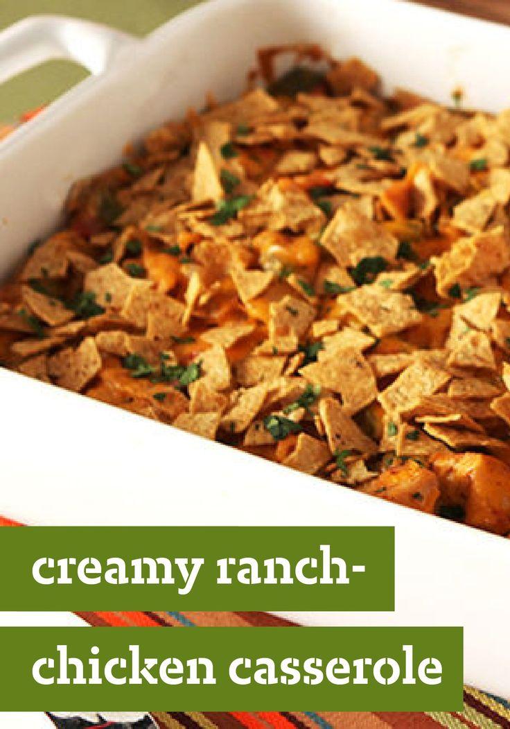 Ranch-Chicken Casserole – Want an easy, creamy, cheesy casserole ...