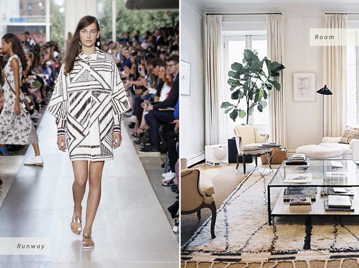 © Traditional Home Tory Burch Spring 2015 Runway | Tom Delavan for Traditional Home Interior Design Inspired by Spring 2015 Fashion Trends - Condé Nast Traveler