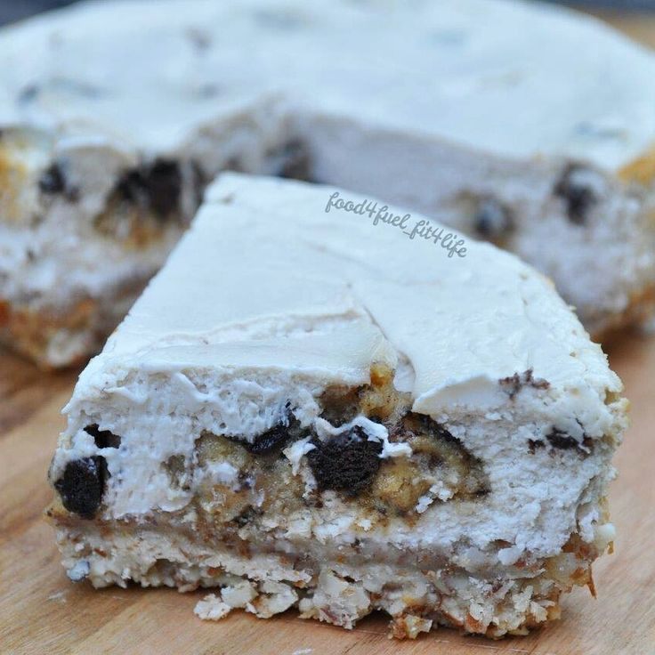 quest bar recipes | 18. Cookies N Cream Quest Bar Cheesecake