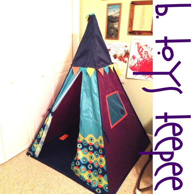 B Toys Illuminated Teepee #MMHolidayGiftGuide - The New Modern Momma