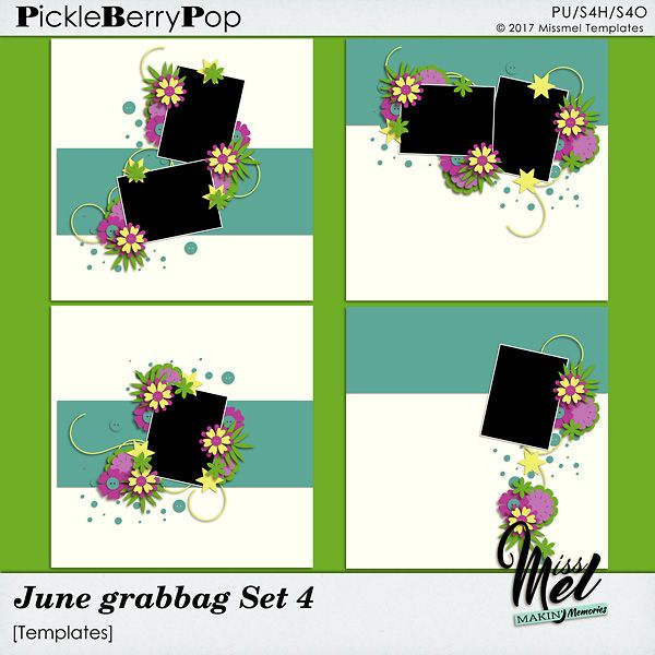 June Grabbag Set 4 by MissMel Templates https://www.pickleberrypop.com/shop/product.php?productid=51763&page=1