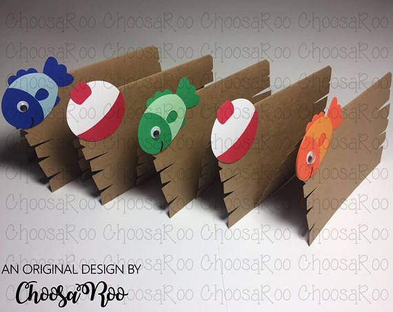 Your little fisherman is reeling in THE BIG ONE! Fishing Themed First Birthday Decorations Package! The perfect addition to your fishing themed birthday party, photoshoot or bedroom! Happy 1st Birthday Banner *Five (5) Googly-Eyed Fish (4.5 wide x 7 tall) *Fourteen (14) 5 Bobbers Fish