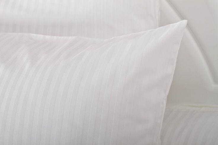 Mabotex pościel dla hoteli -  komplet Victoria biel 1cm
