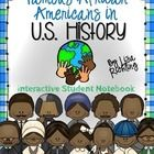 Have your students learn about different African American historical figures using a different approach: an interactive student notebook. Students ...