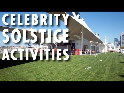 ▶ Celebrity Solstice Review & Tour: Activities ~ Celebrity Cruises ~ Cruise Ship Review & Tour – PopularCruising.com