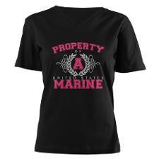marine corp shirts for women | Marine Corps Girlfriend T-Shirts & Tees