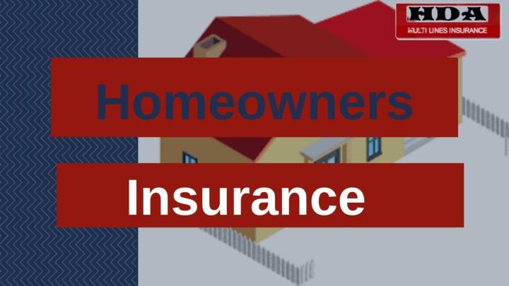 Hda Insurance With Images Homeowners Insurance Homeowner