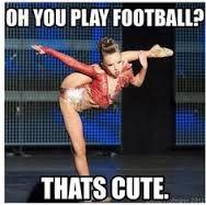 Dance vs. Football