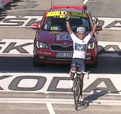 Nairo Quintana,  victoria espectacular. Tour 2013