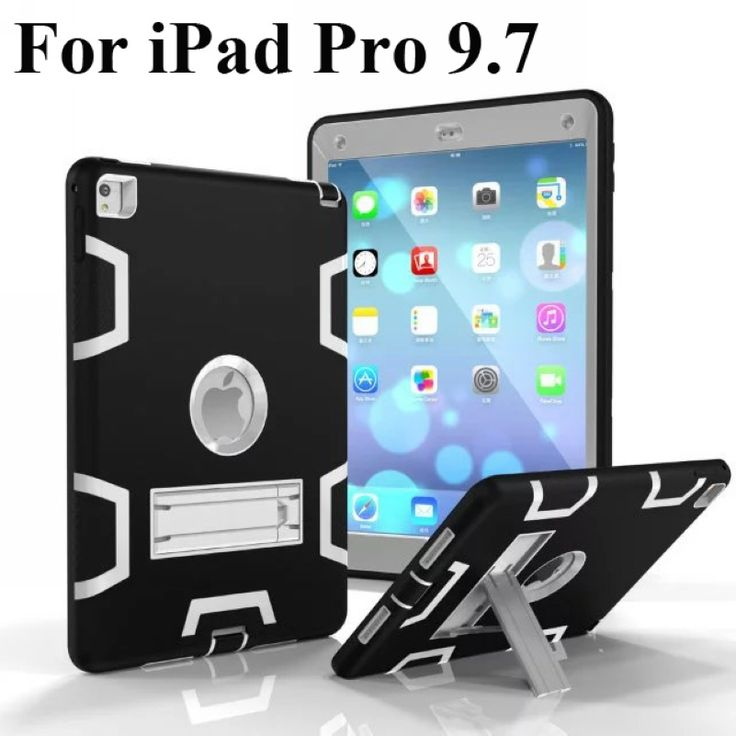 13.63$  Buy now - http://aliv6u.shopchina.info/1/go.php?t=32669475528 - For Apple iPad Pro 9.7 Armor Shockproof Hybrid Protective Stand Cover Case  #aliexpress