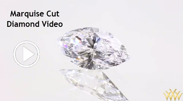 Marquise Cut Diamond Video - Marquise shape diamonds (pronounced: mar kees) are one of the most distinctive of all diamonds shapes.