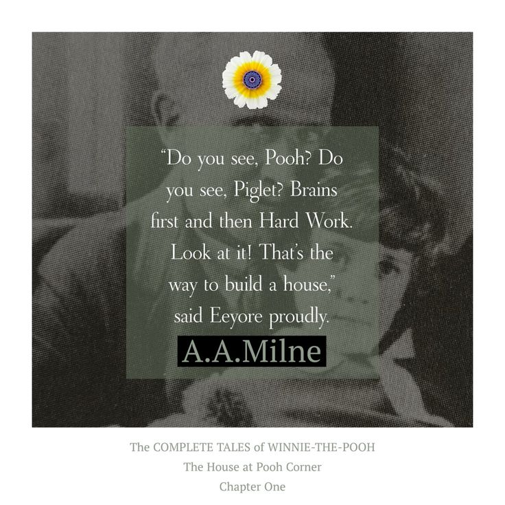 """""""Do you see, Pooh?…"""" #wednesdaywisdom #pooh #poohbear #winniethepooh #authentic #quote #aamilnequote #aamilne >>>  https://whatthechrysanthemumknows.com/2018/02/14/do-you-see-pooh/"""