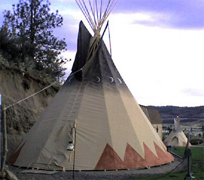 Tipi...Rainbow gathering???