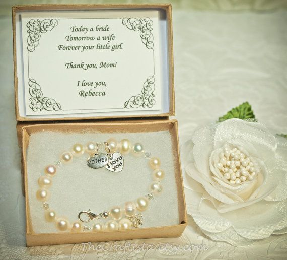 Vintage Pearls Mother of the Bride Bracelet -- Vintage Gift Card -- Mother's Day Bracelet -- Authentic Freshwater Pearls on Etsy, $19.99