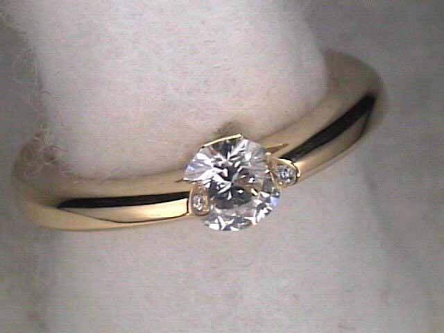 Ideal Schaffrath rotating spinning Diamond Ring Liberte Lumina bei juwelier Roller Chemnitz