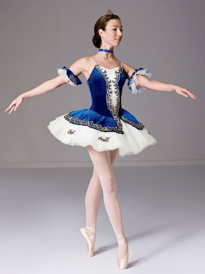 Majestic - Style 0170 | Revolution Dancewear Ballet Dance Recital Costume. Maybe one of the variations... I thought this costume came in romantic length also??
