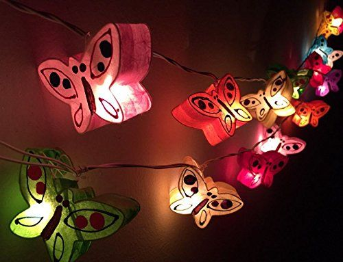 1 Set Handmade Lighting String 20 Butterfly Lights Hanging Lamp Mixed Colors Home Decoration, Patio, Living Room, Kid Toys, Yard & Garden Indoor Outdoor, Birthday, Christmas, Wedding, New Year, Anniversary, Ceremony, Valentine Party bestNineFive http://www.amazon.com/dp/B00X5CPPMS/ref=cm_sw_r_pi_dp_un7wvb0VBFAA4