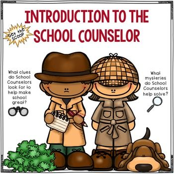 This activity is a great way to introduce the role of a school counselor to students. It gives students a better understanding of the job responsibilities and services a school counselor provides. This download can be used as a powerpoint presentation or print and laminate for durability.