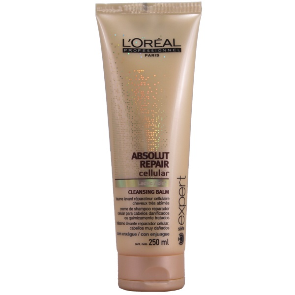 Loreal Profissional Absolut Repair Cellular Cleasing Balm Shampoo - Loreal Profissional Absolut Repair Cellular: - Doce Beleza