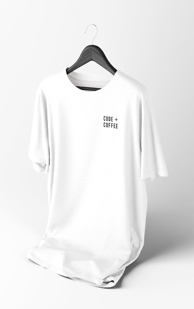 Coffee + Code Shirt (White)