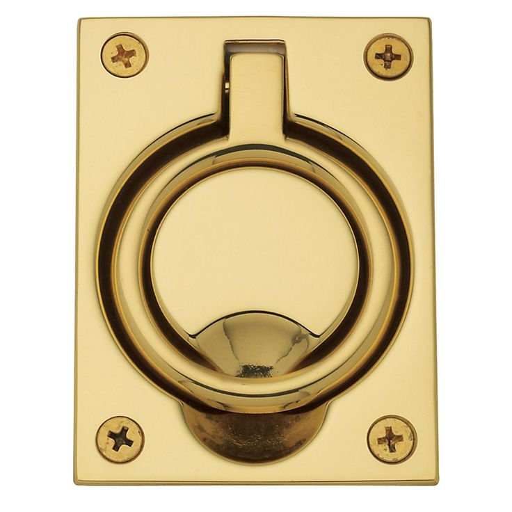 Luxury Brass Ring Pulls Cabinet Hardware