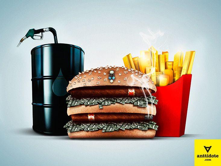 Rich Burger Meal