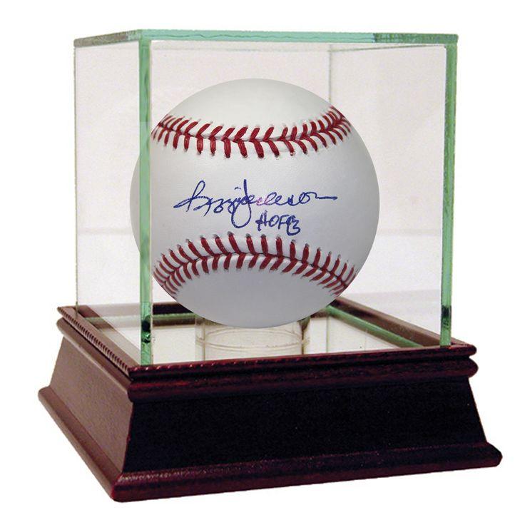 Reggie Jackson MLB Baseball w/ 'HOF' Insc.