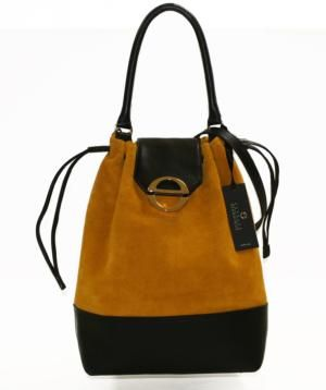 Bucket bags in genuine leather of the nes collection ESTELLE VÈRONIQUE