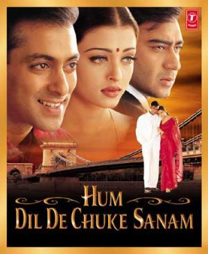 Hum Dil De Chuke Sanam is a 1999 Bollywood romantic drama film directed by Sanjay Leela Bhansali. It was released in the English-speaking world as Straight from the Heart. The film stars Salman Khan, Ajay Devgan, and Aishwarya Rai.