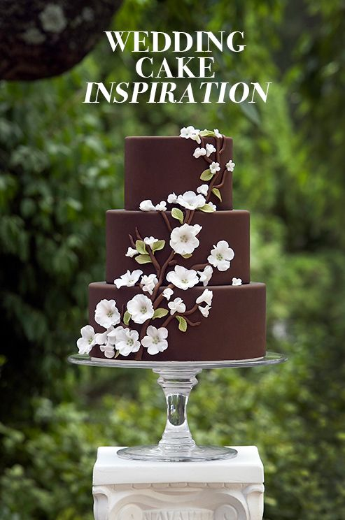 Choosing the right cake to suit the style of the wedding is key, and the possibilities of cake decoration are more elaborate than ever. Look through these edible works of art for inspiration.